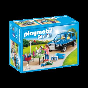 Playmobil Pet Hotel Mobile Pet Groomer
