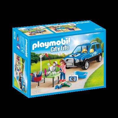 Playmobil Playmobil Pet Hotel Mobile Pet Groomer