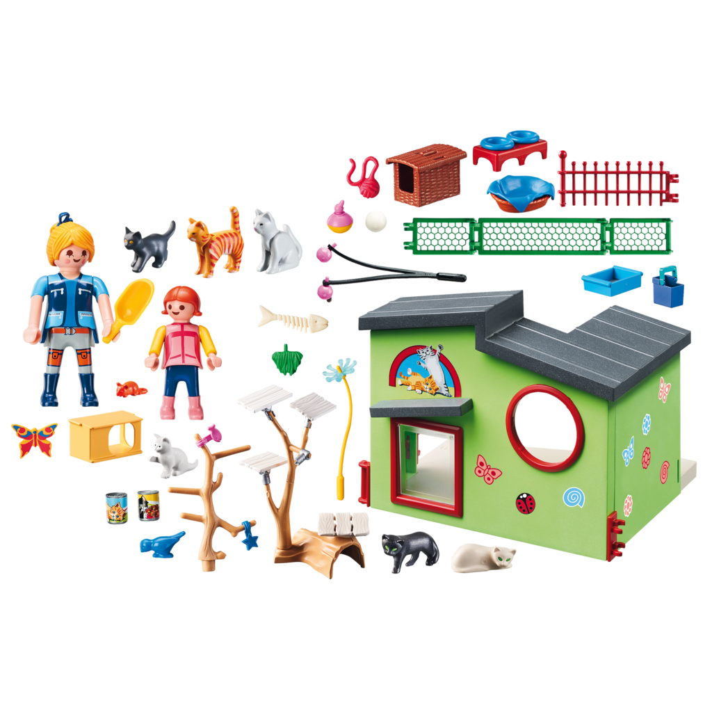 Playmobil Pet Hotel Purrfect Stay Cat Boarding