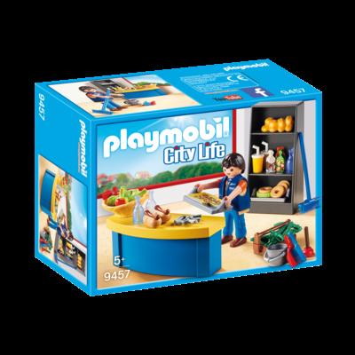 Playmobil Playmobil School Caretaker with Kiosk
