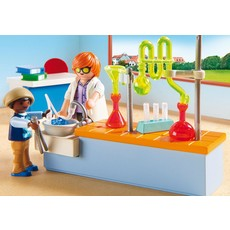 Playmobil School Chemistry Lesson
