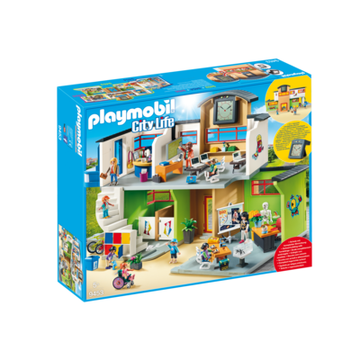 Playmobil Playmobil School Furnished Building