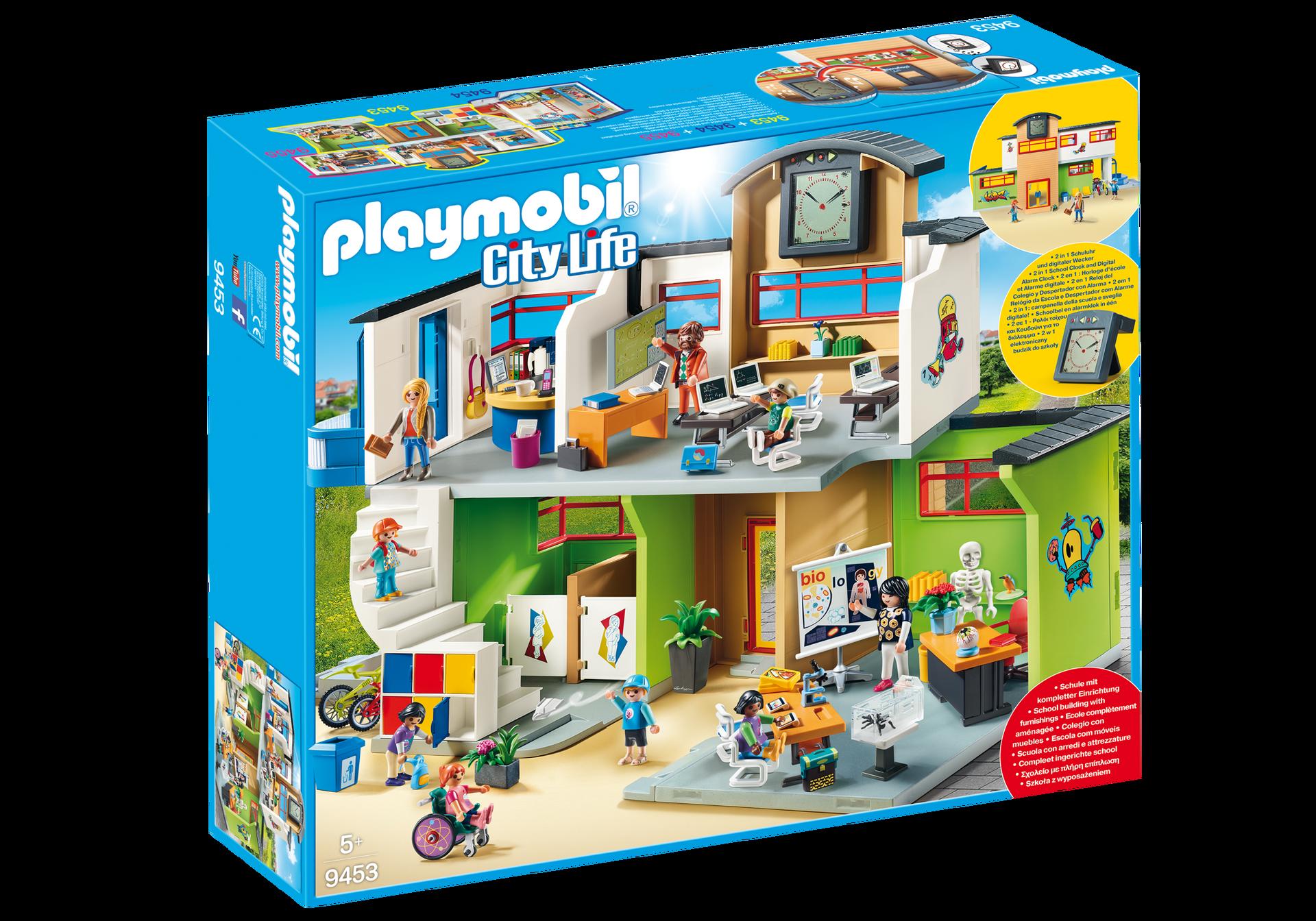 Playmobil School Furnished Building Minds Alive Toys