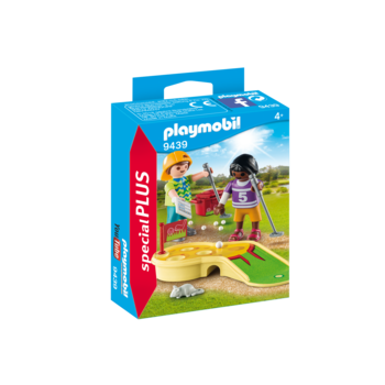 Playmobil Special Children Minigolfing