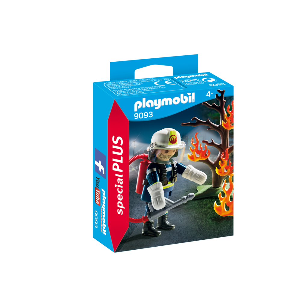 Playmobil Special Firefighter with Tree