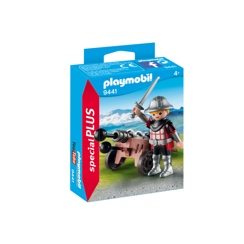 Playmobil Playmobil Special Knight with Cannon