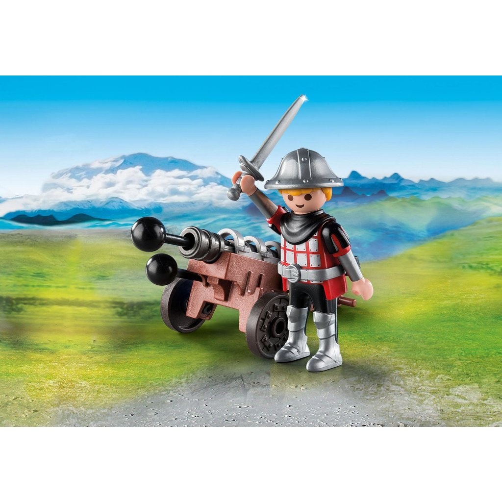 Playmobil Special Knight with Cannon