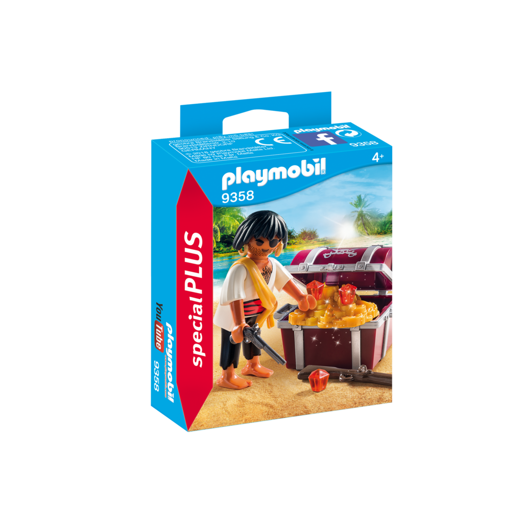 Playmobil Special Pirate with Treasure Chest