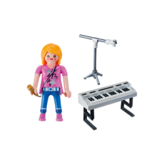 Playmobil Special Singer with Keyboard