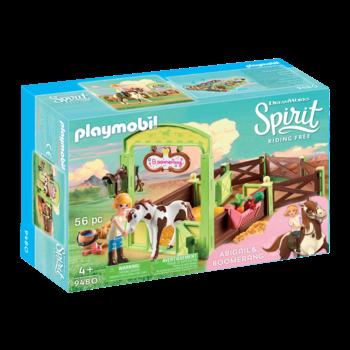 Playmobil Spirit Horse Box Abigail & Boomerang