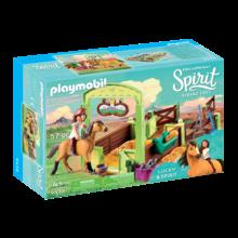 Playmobil Playmobil Spirit Horse Box Lucky & Spirit
