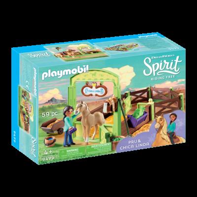 Playmobil Playmobil Spirit Horse Box Pru & Chica Linda