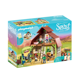 Playmobil Playmobil Spirit II Barn with Lucky Pru & Abigail