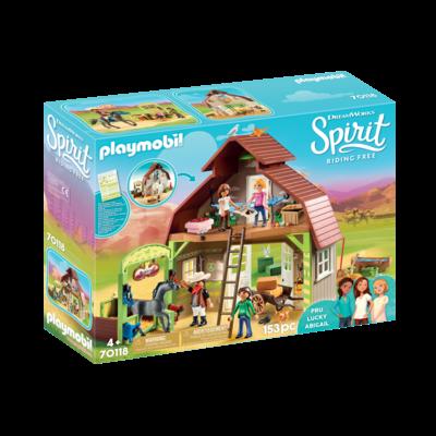 Playmobil Playmobil Spirit II Barn with Lucky Pru & Abigail