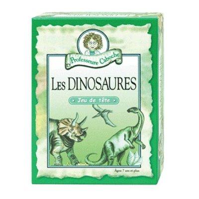 Professeure Caboche Jeu Français: Dinosaures