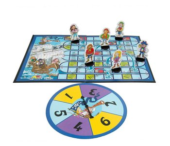 Noggin Playground Game Snakes & Ladders Pirate