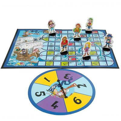 Noggin Playground Noggin Playground Game Snakes & Ladders Pirate