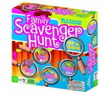 Outset Game Family Scavenger Hunt