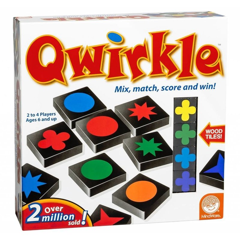 Outset Media Mindware Game Qwirkle