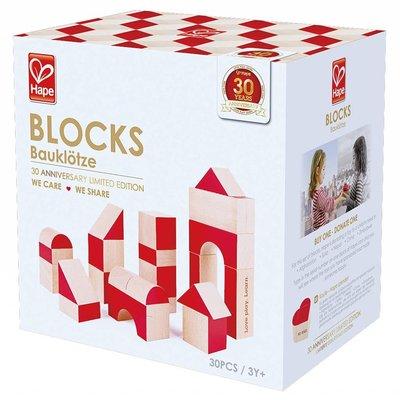 Hape Toys Hape Wood Blocks 30th Anniversary