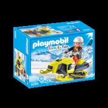 Playmobil Playmobil Winter Sports Snowmobile