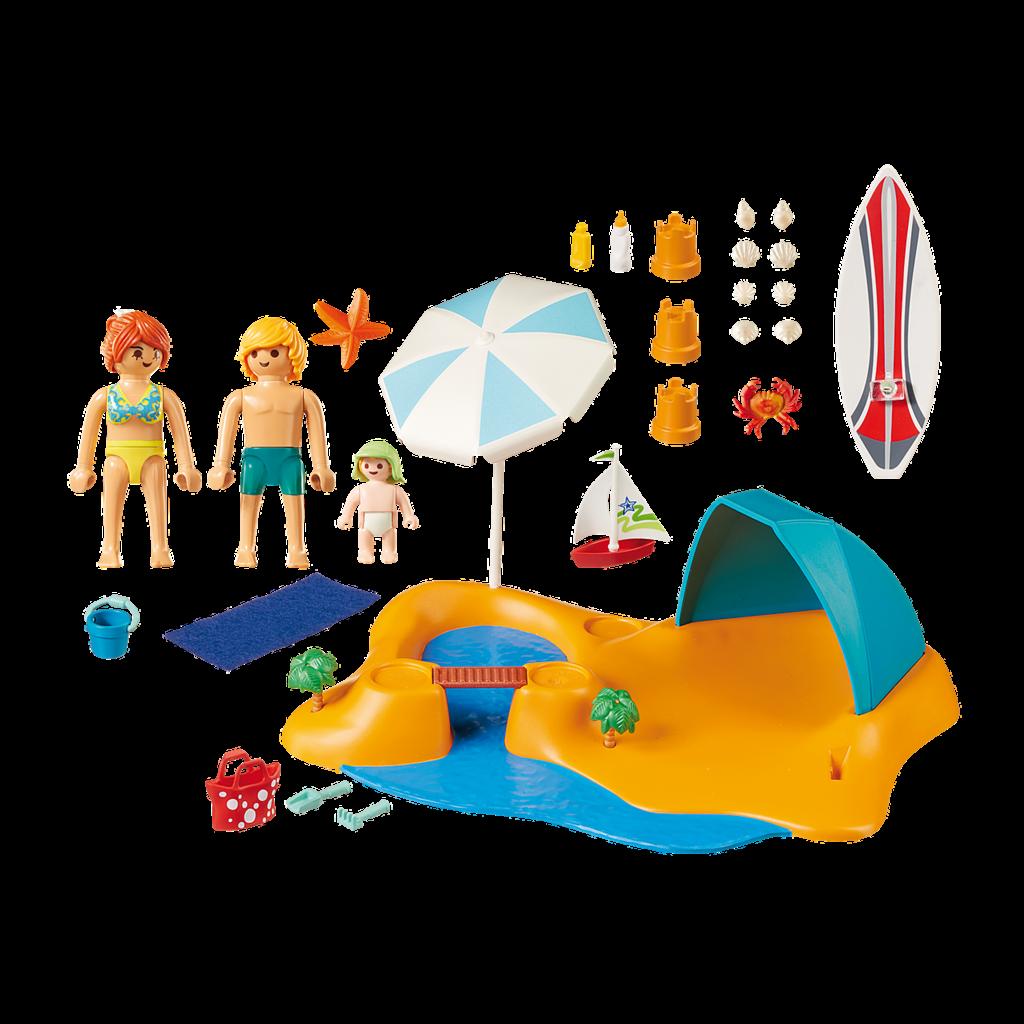 Playmobil Summer Villa Family Beach Day