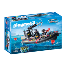 Playmobil Playmobil Tactical Police Unit Boat