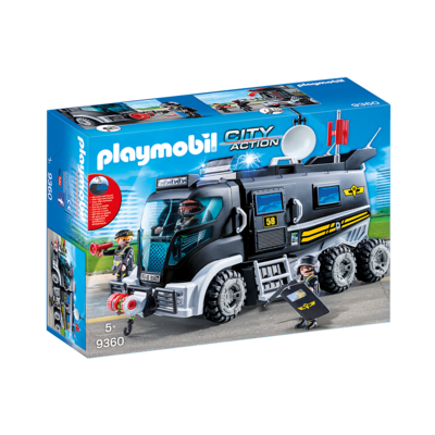 Playmobil Playmobil Tactical Police Unit Truck