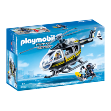 Playmobil Playmobil Tactical Police Unit Helicopter