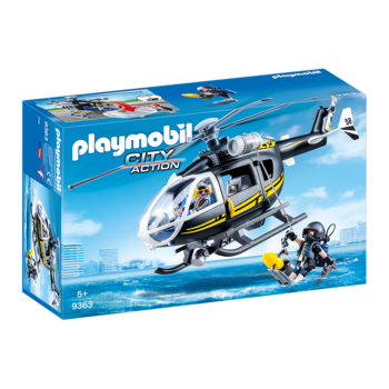 Playmobil Tactical Police Unit Helicopter