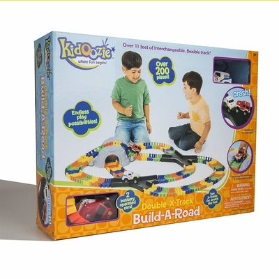 Kidoozie Kidoozie Build-A-Road Double X Track