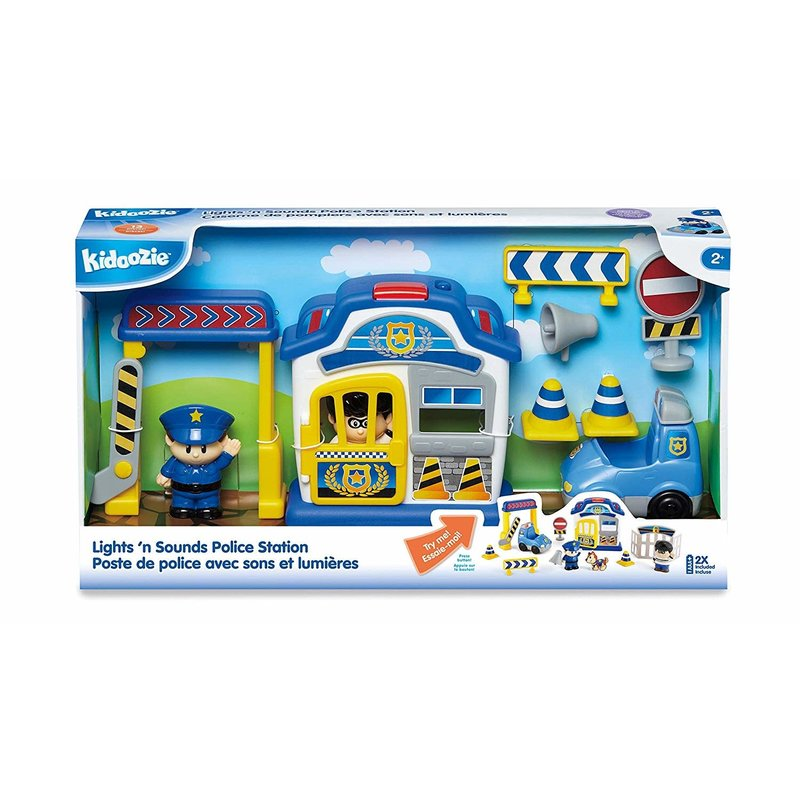 Kidoozie Kidoozie Lights 'n Sounds Police Station