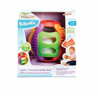 Earlyears Kidoozie Lights 'n Sounds Rattle Ball