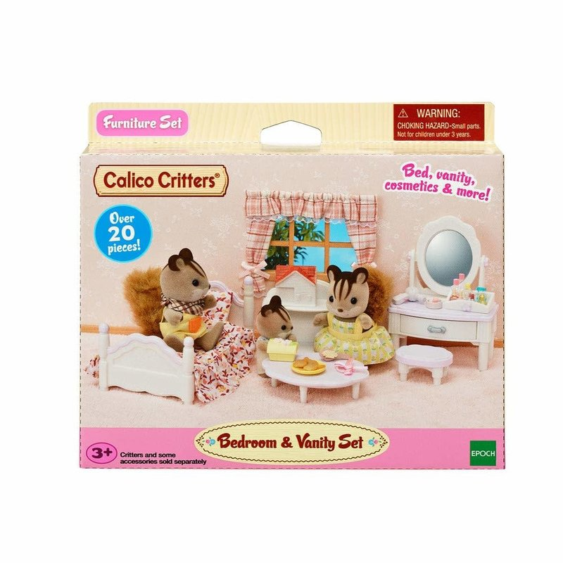 Calico Critters Calico Critters Room Bedroom & Vanity Set