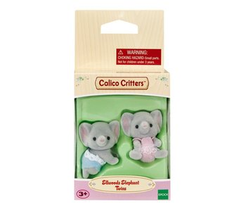 Calico Critters Twins Ellwood Elephant