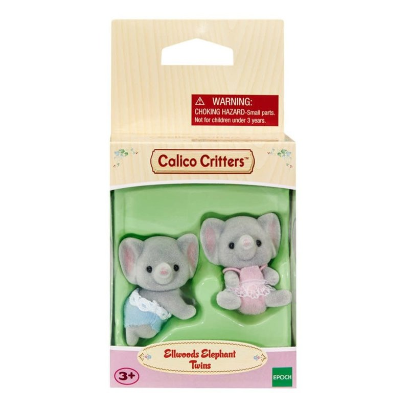 Calico Critters Calico Critters Twins Ellwood Elephant
