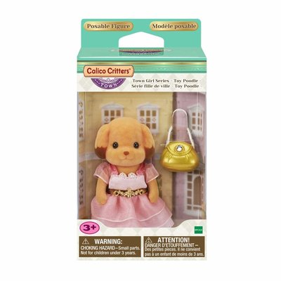 Calico Critter Town Girl Series Laura Toy Poodle