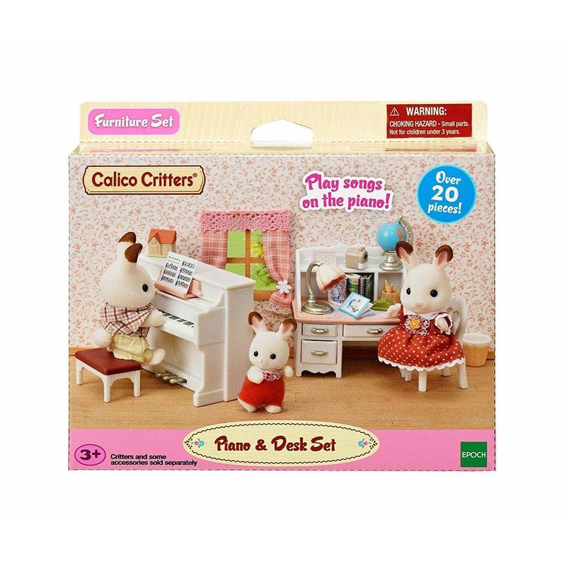 Calico Critters Calico Critters Set Piano & Desk