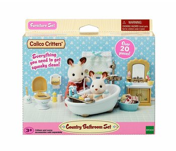 Calico Critters Room Country Bathroom Set