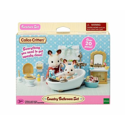 Calico Critters Calico Critters Room Country Bathroom Set