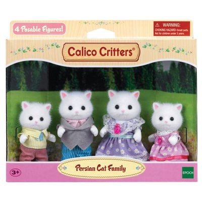 Calico Critters Calico Critters Family Persian Cat Family