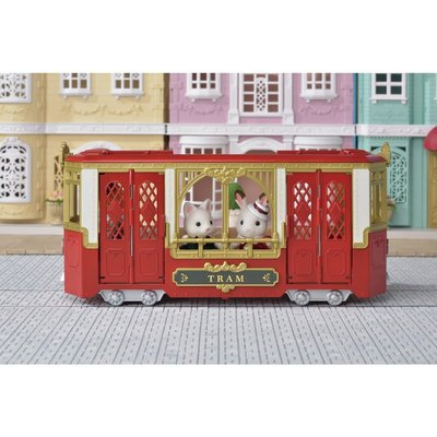 Calico Critters Calico Critters Town Ride Along Tram
