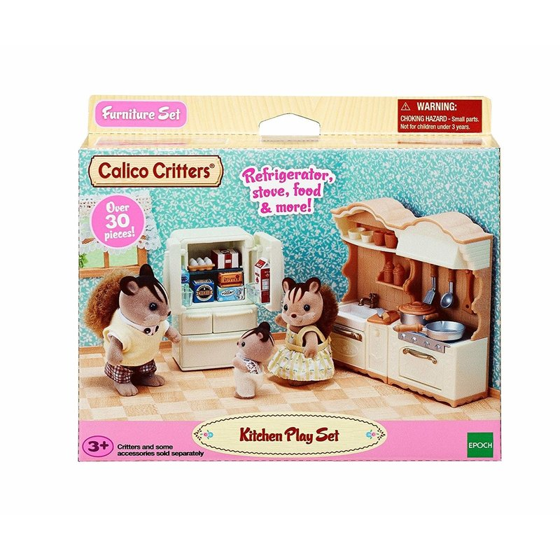 Calico Critters Calico Critters Room Kitchen Play Set