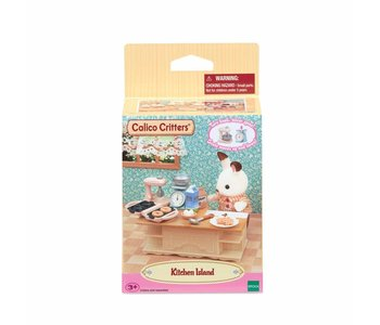 Calico Critters Room Kitchen Island