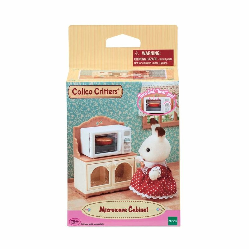 Calico Critters Calico Critters Room Microwave Cabinet