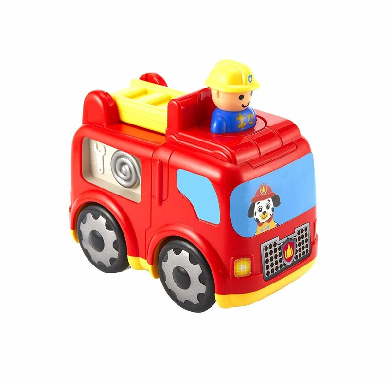 Kidoozie Kidoozie Press 'n Zoom Fire Engine