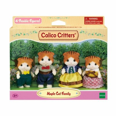 Calico Critters Calico Critters Family Maple Cat