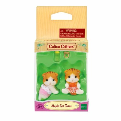 Calico Critters Calico Critters Twins Maple Cat