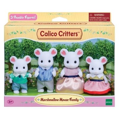 Calico Critters Calico Critters Family Marshmallow Mouse