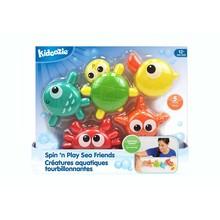 Kidoozie Kidoozie Bath Spin 'n Play Sea Friends